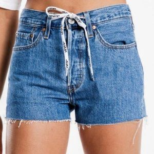 Levi's 501 High Waist Cutoff Denim Shorts 31 NWT